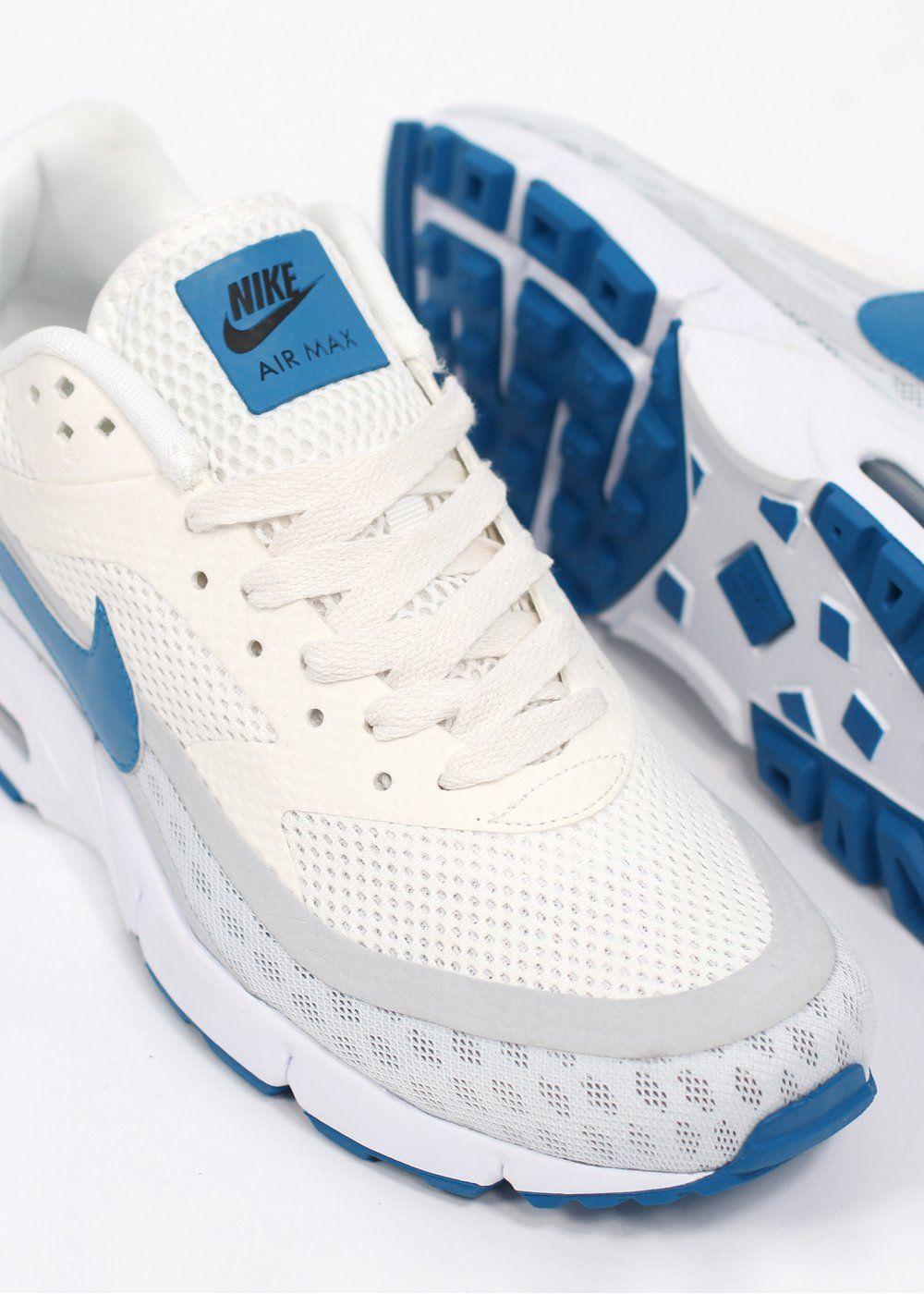 Nike Air Classic BW GEN II Trainers - Summit White / Military Blue / Cool Grey