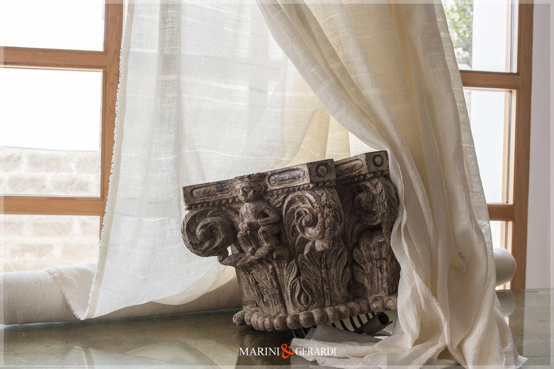 Tendaggi di lino - Tende in lino preziose - Tende di Lino ...