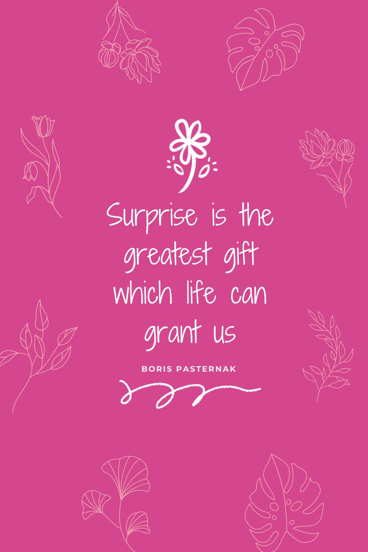 Surprise Birthday Quotes. QuotesGram