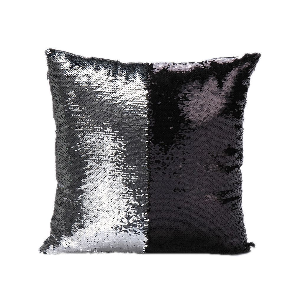 Glitter Sequins Color Changing Throw Pillow Cases Hugging Home Cushion Decorative Pillow Cover Sequin Throw Pillows Sequin Cushion Decorative Pillow Cases
