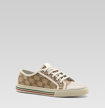 enorme sconto 88704 ab82e Gucci - sneaker allacciata california low 284883FWH409788 | Gucci ...