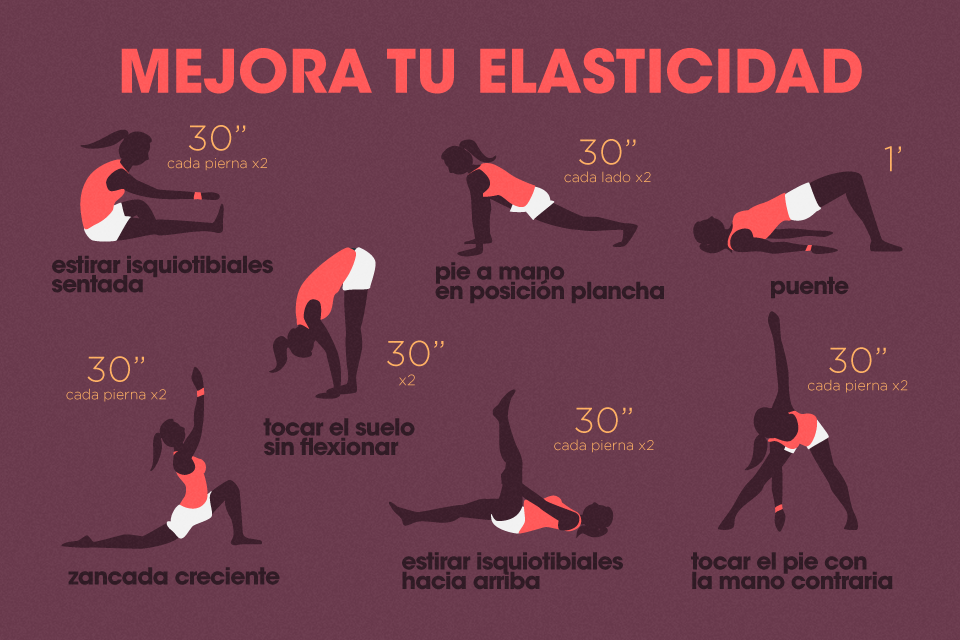 ejercicios para mejorar la flexibilidad de isquiotibiales