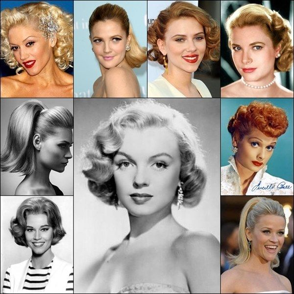 50s Hairstyles Google Search Hair Styles Vintage Hairstyles 50s Fashion Hairstyles