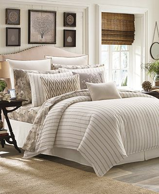 Tommy Bahama Home Sandy Coast Stripe Bedding Collection Reviews
