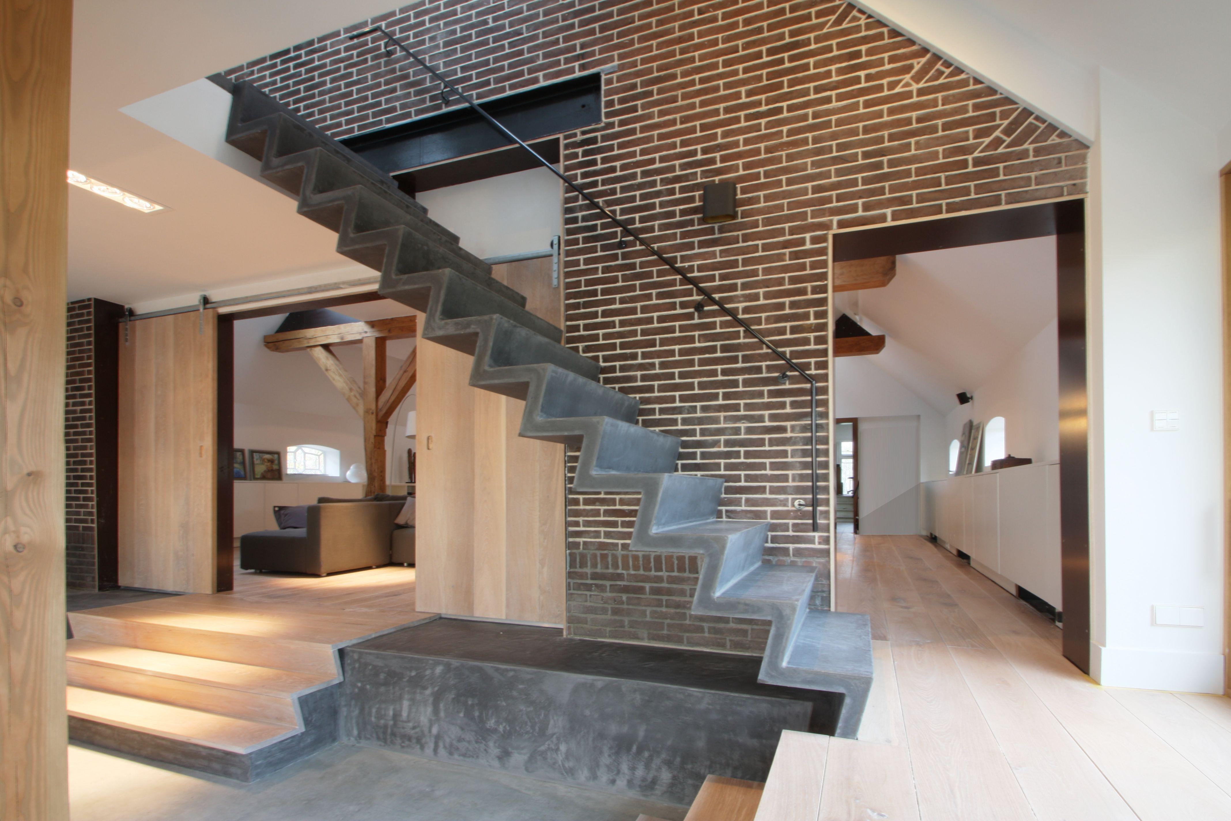 Betonnen trap google zoeken trappen pinterest staircases