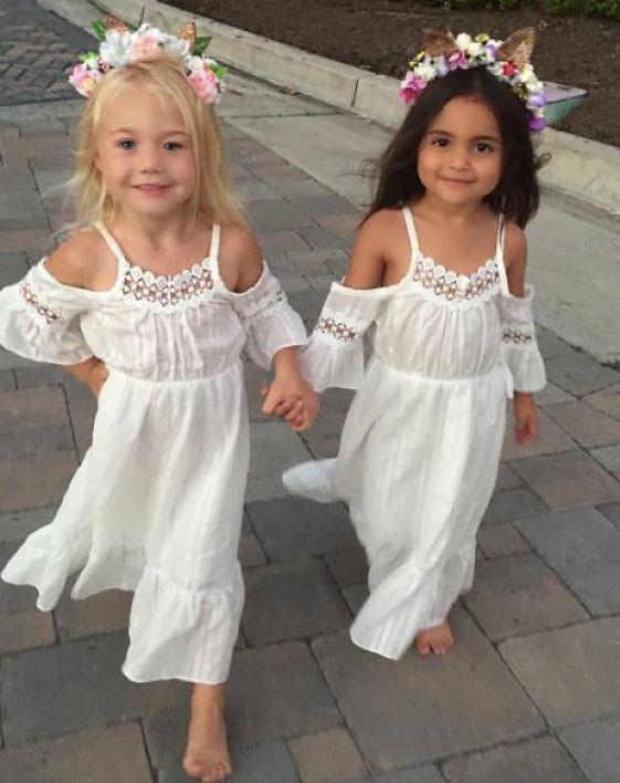 Model Number: Beach Girls Clothing Dress Princess Material
