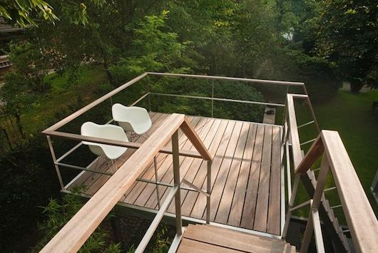 Perfect Super Sweet Views In This Modern Treehouse On Stilts