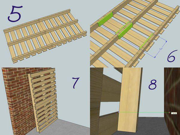 pallet-bookshelf-ideas step by step instructions