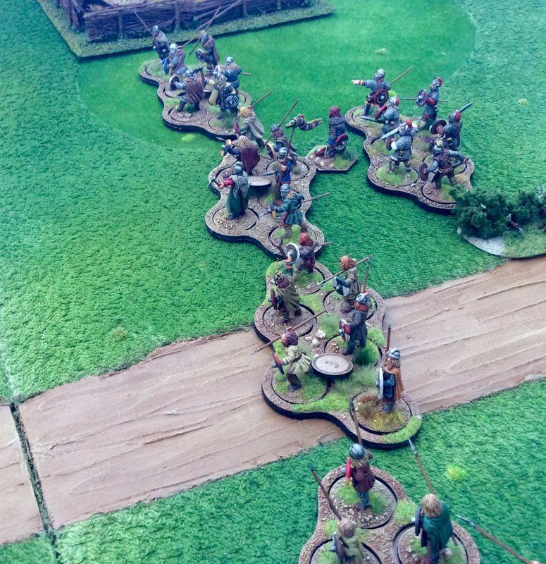 Saxons Invade Ednasforde - Page1