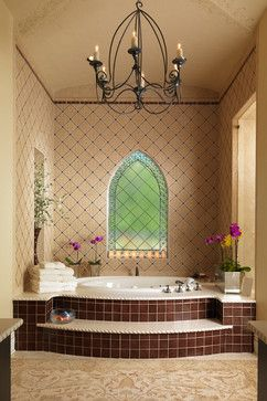 Villa Pavia ~ Custom Residence - mediterranean - bathroom - tampa - The Fechtel Company