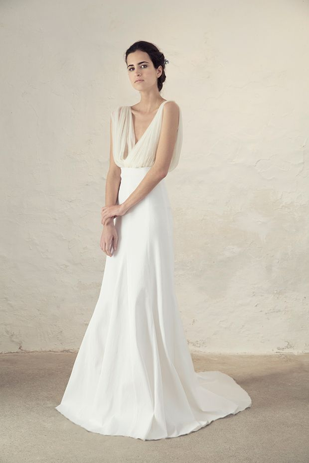 488397cab80 Fortuny Top with Rice Skirt from Cortana wedding dresses Bridal Collection  - Silk