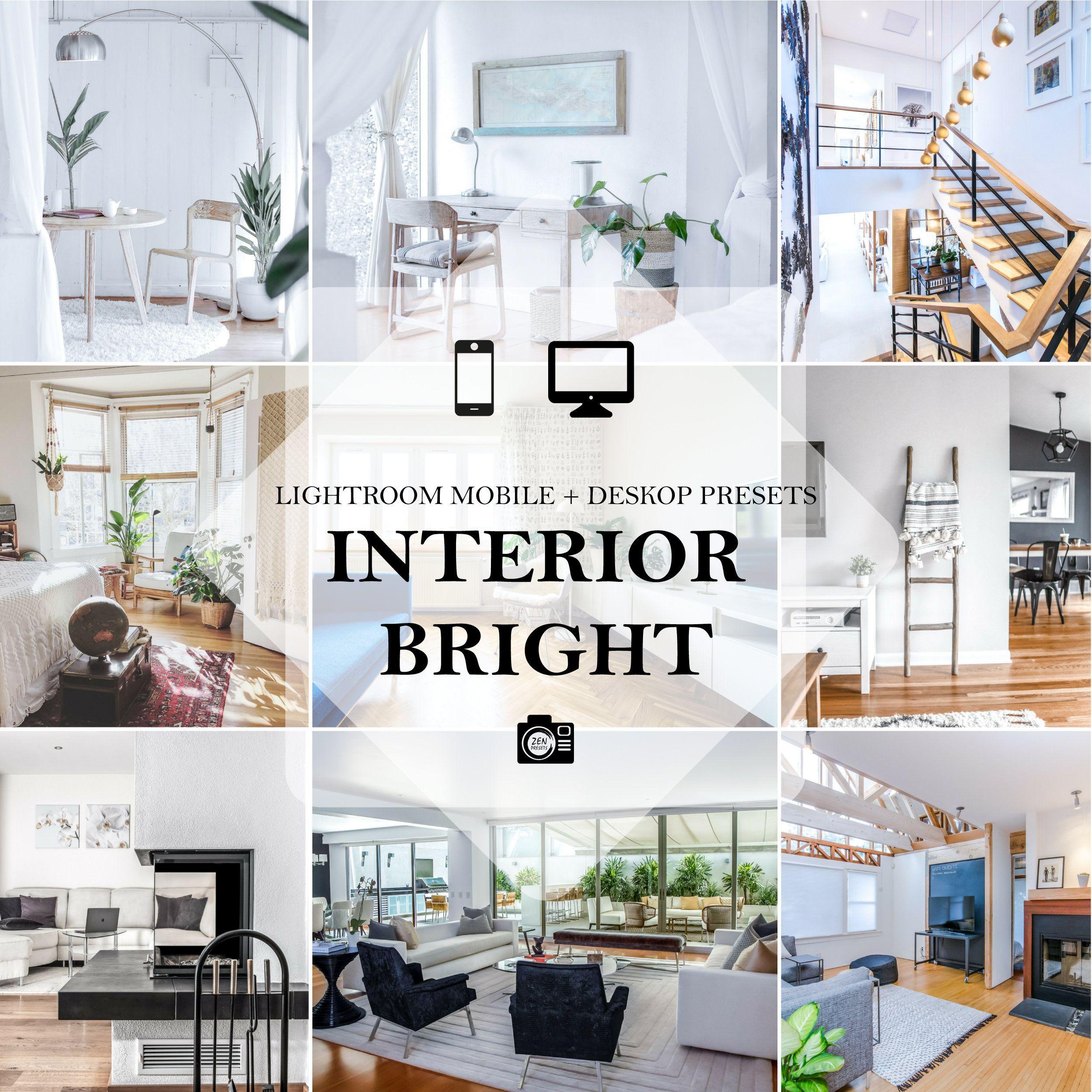 10 Interior Bright Mobile Desktop Lightroom Presets 10 Interior