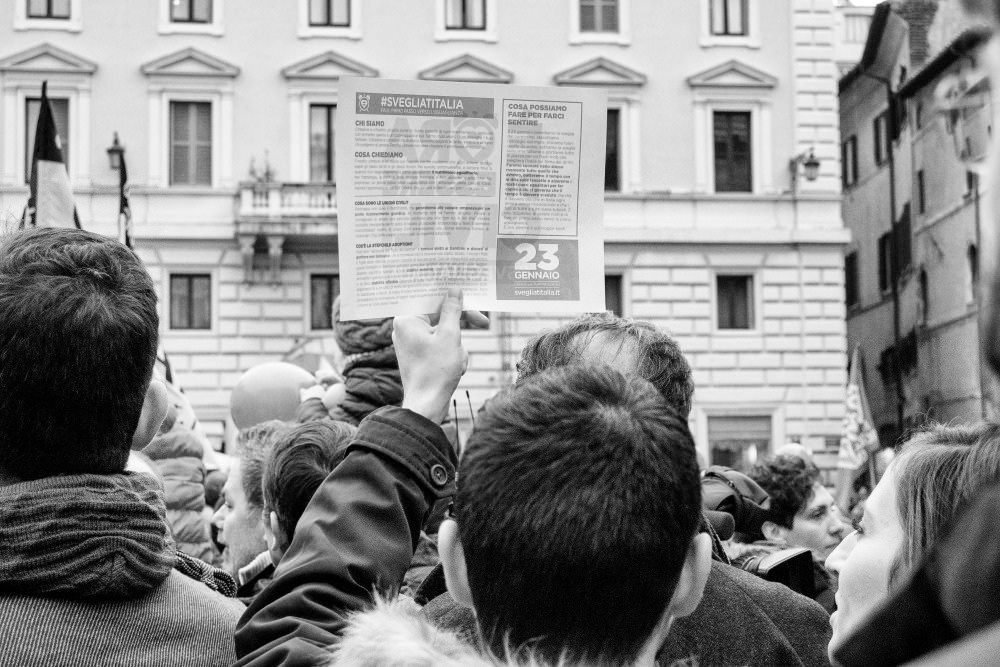 https://flic.kr/p/Djqone | Rome 23/01/16 Demonstration on civil unions and gay rights