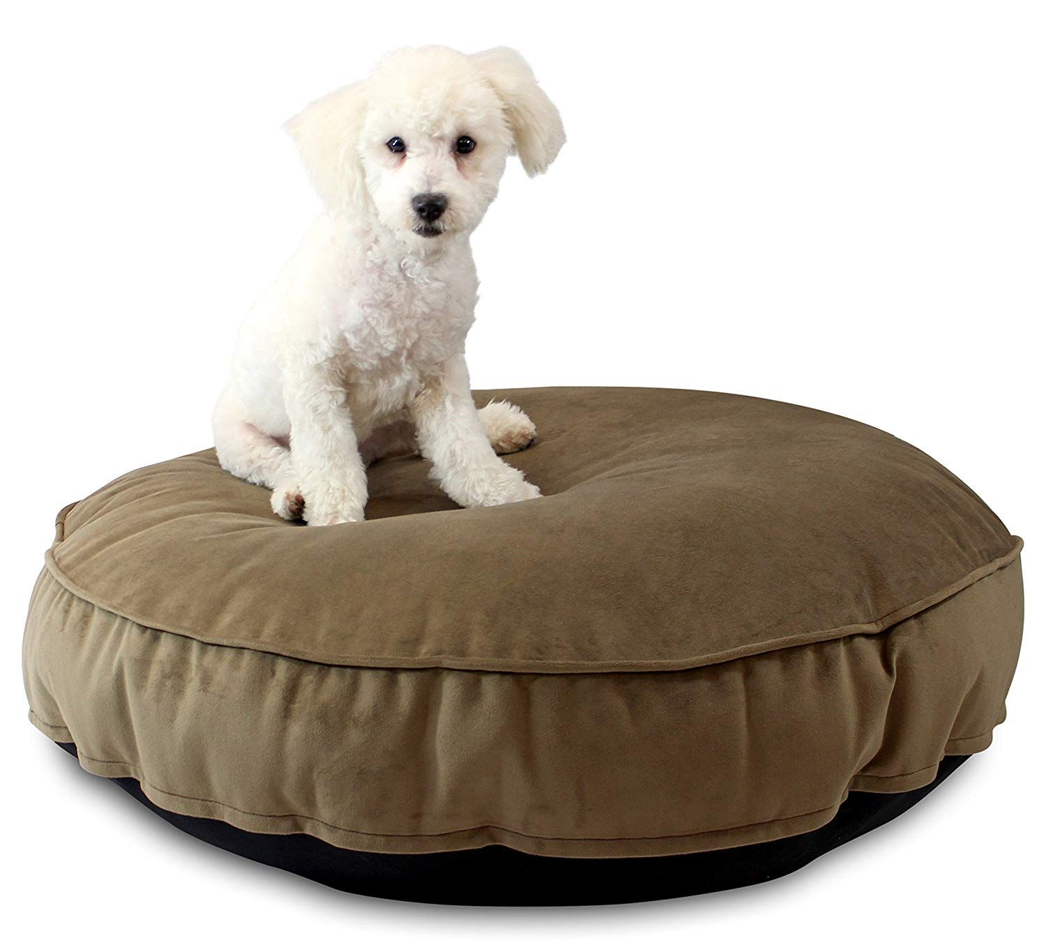 Oliver and Iris Plush Round Dog Bed * Sincerely hope that