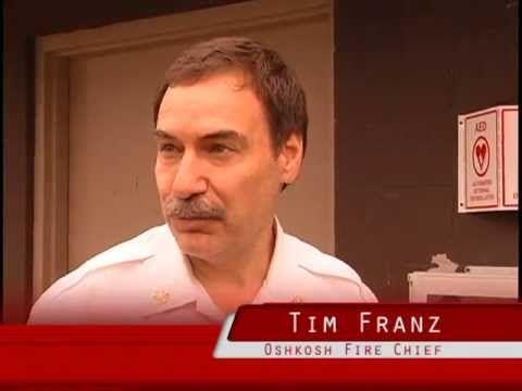 Oshkosh Fire Chief Tim Franz on adding public AEDs (automated external defibrillators).