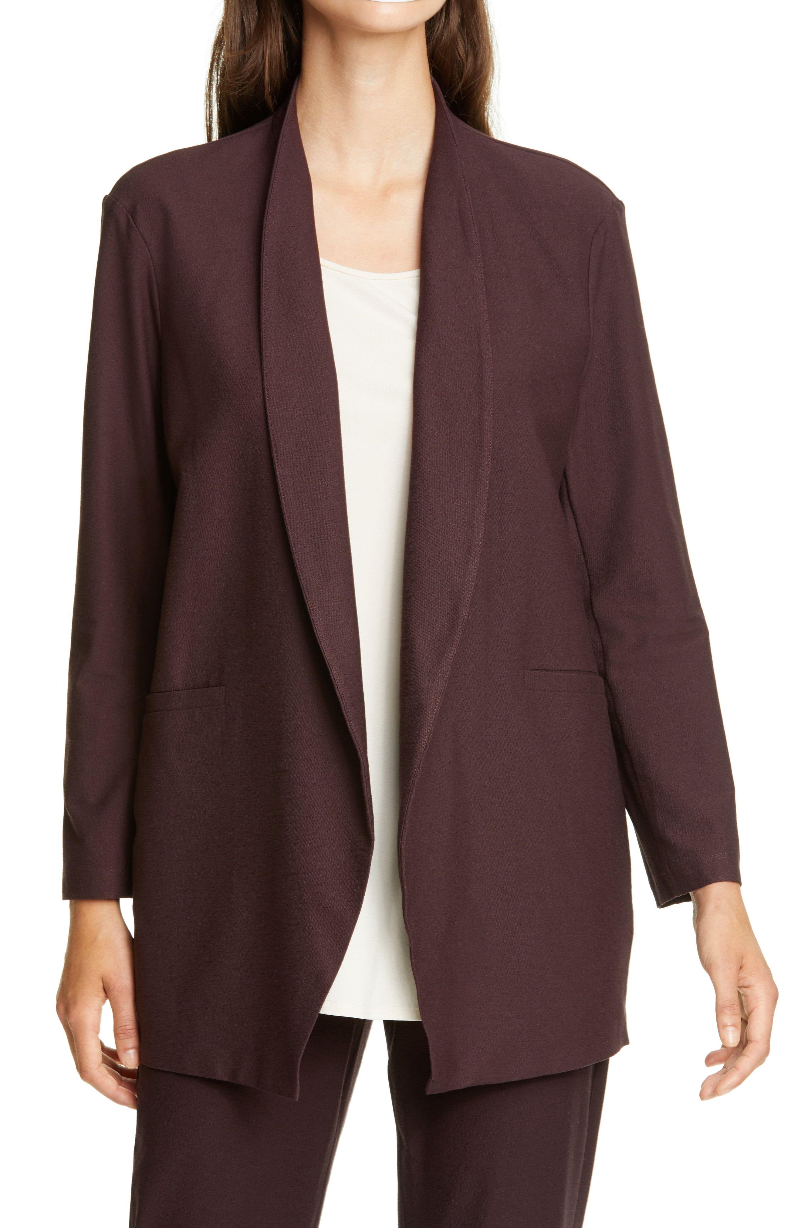 Eileen Fisher Cutaway Jacket Nordstrom Rack Eileen Fisher Jackets Long Jackets [ 4048 x 2640 Pixel ]
