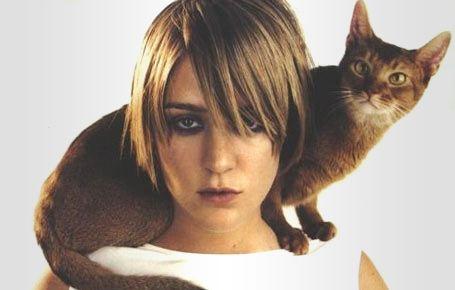 Chloe & cat. | Cats, Kitty, Animals