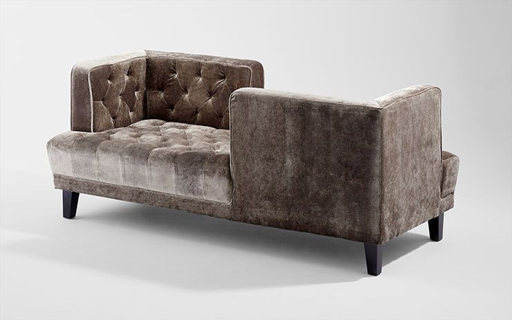Add A Touch Of Luxe And Comfort Collette Sofa Chair From