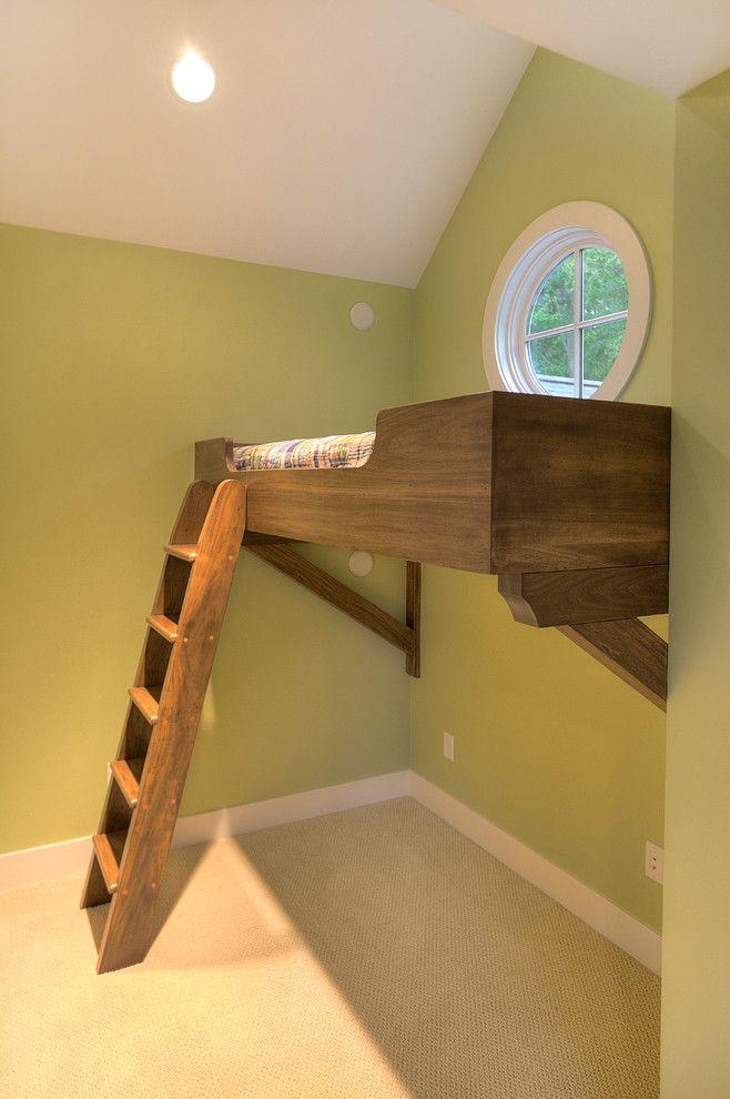 Image Result For Kids Floating Loft Corner Loft Beds Kids Loft Beds Simple Bedroom