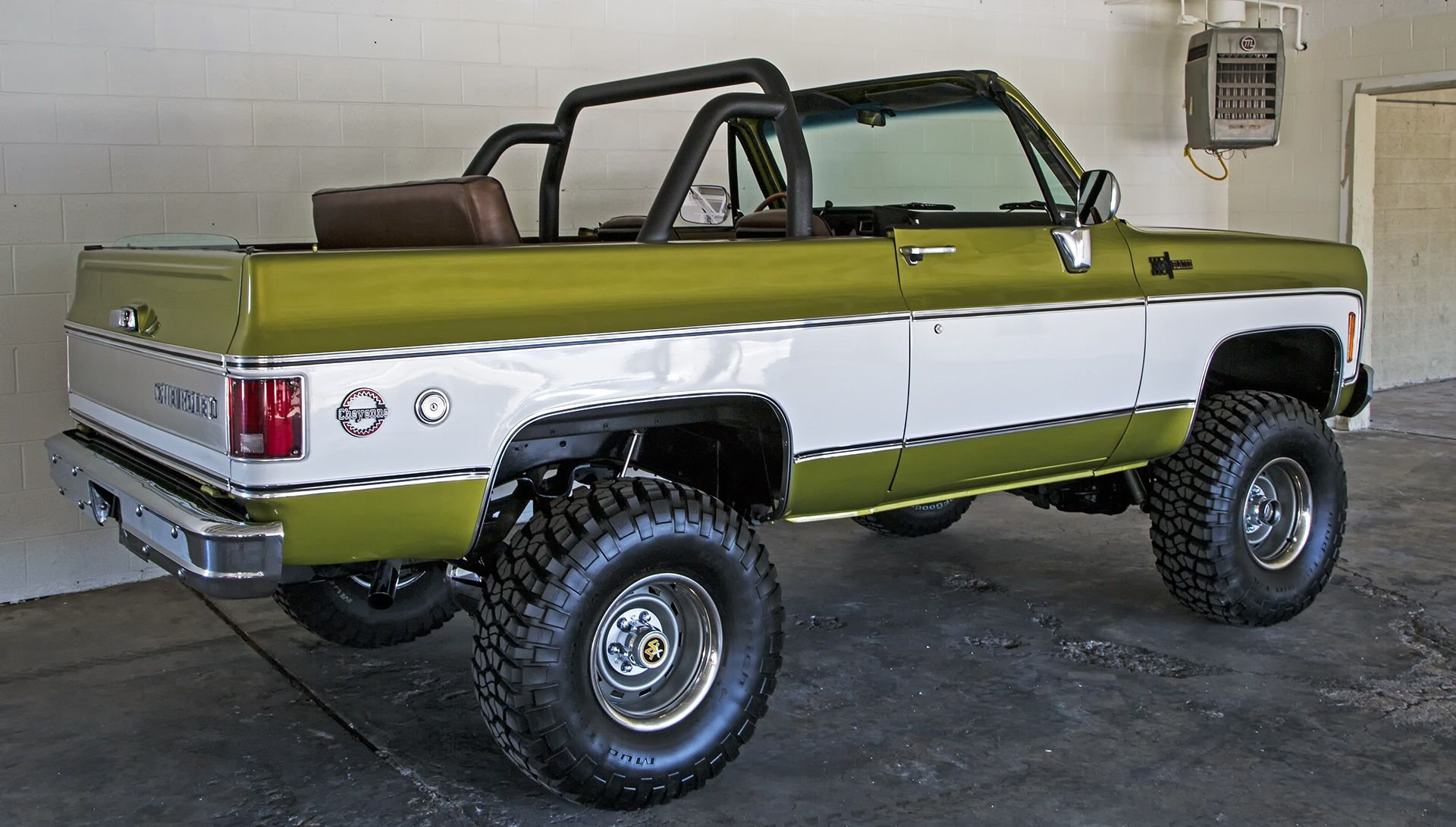 Project Green Machine 72 Chevy Truck Chevrolet Blazer Chevy Blazer K5