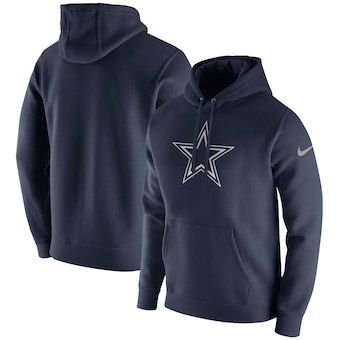 6be659e3 MEN'S WEARING APPAREL Dallas Cowboys Nike Club Fleece Pullover ...