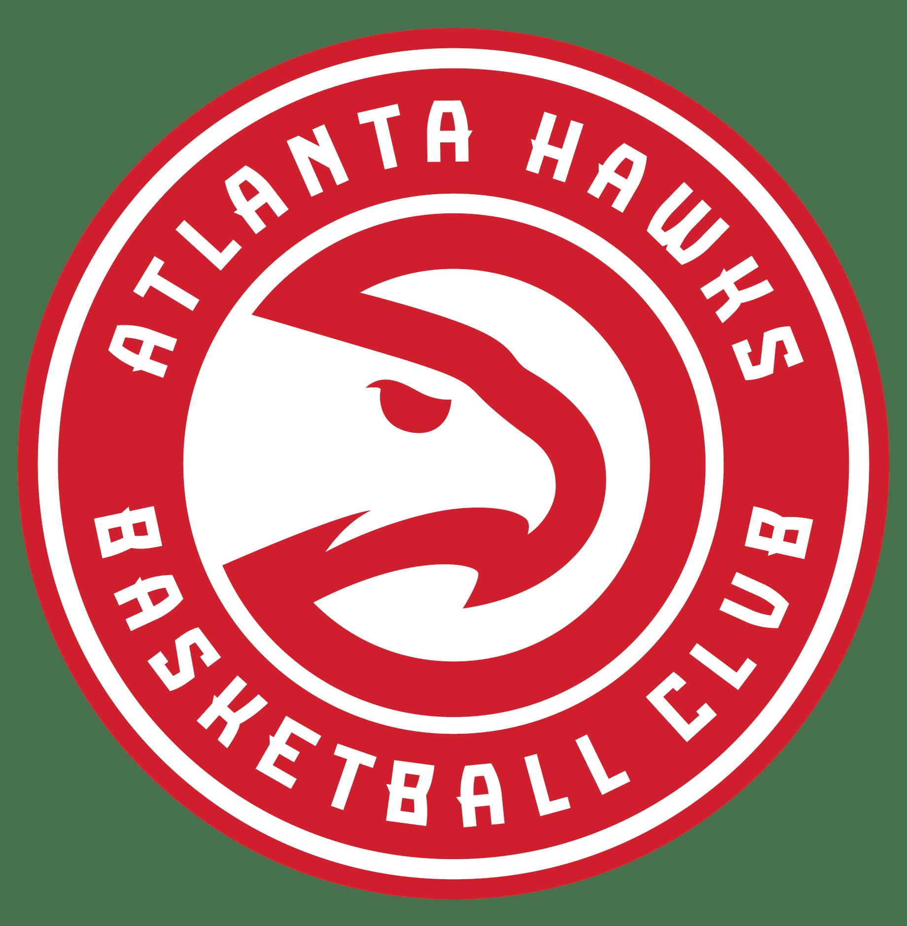 Atlanta Hawks Logo Atlanta Hawks Atlanta Hawks Basketball Hawk Logo