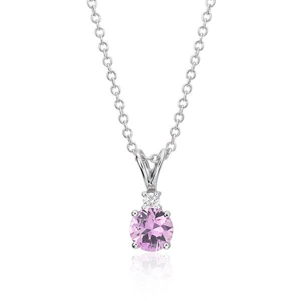 Blue nile pink sapphire and diamond pendant 790 liked on blue nile pink sapphire and diamond pendant 790 liked on polyvore featuring jewelry aloadofball Image collections