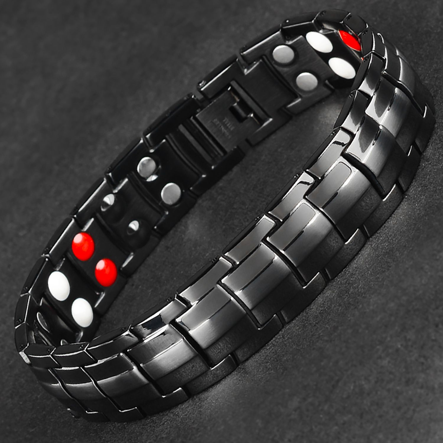 NEW ARTHRITIS PAIN RELIEF TITATIUM /& GERMANIUM 4 in 1 ELEMENTS MAGNETIC BRACELET