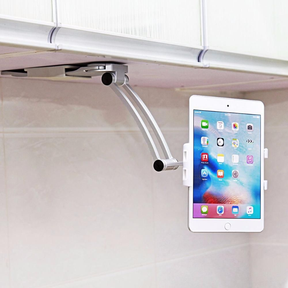 Xmxczkj cell phone holder kitchen tablet mount stand universal wall