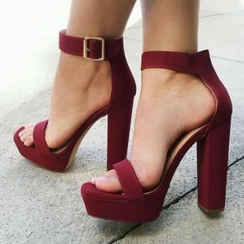 De Lindas Tacón Zapatos GruesoCosas Zapatillas Diseños 28 Con 5 wnvm8N0O