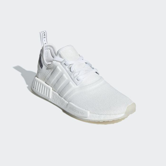 Hvit Adidas NMD_R1 Sko