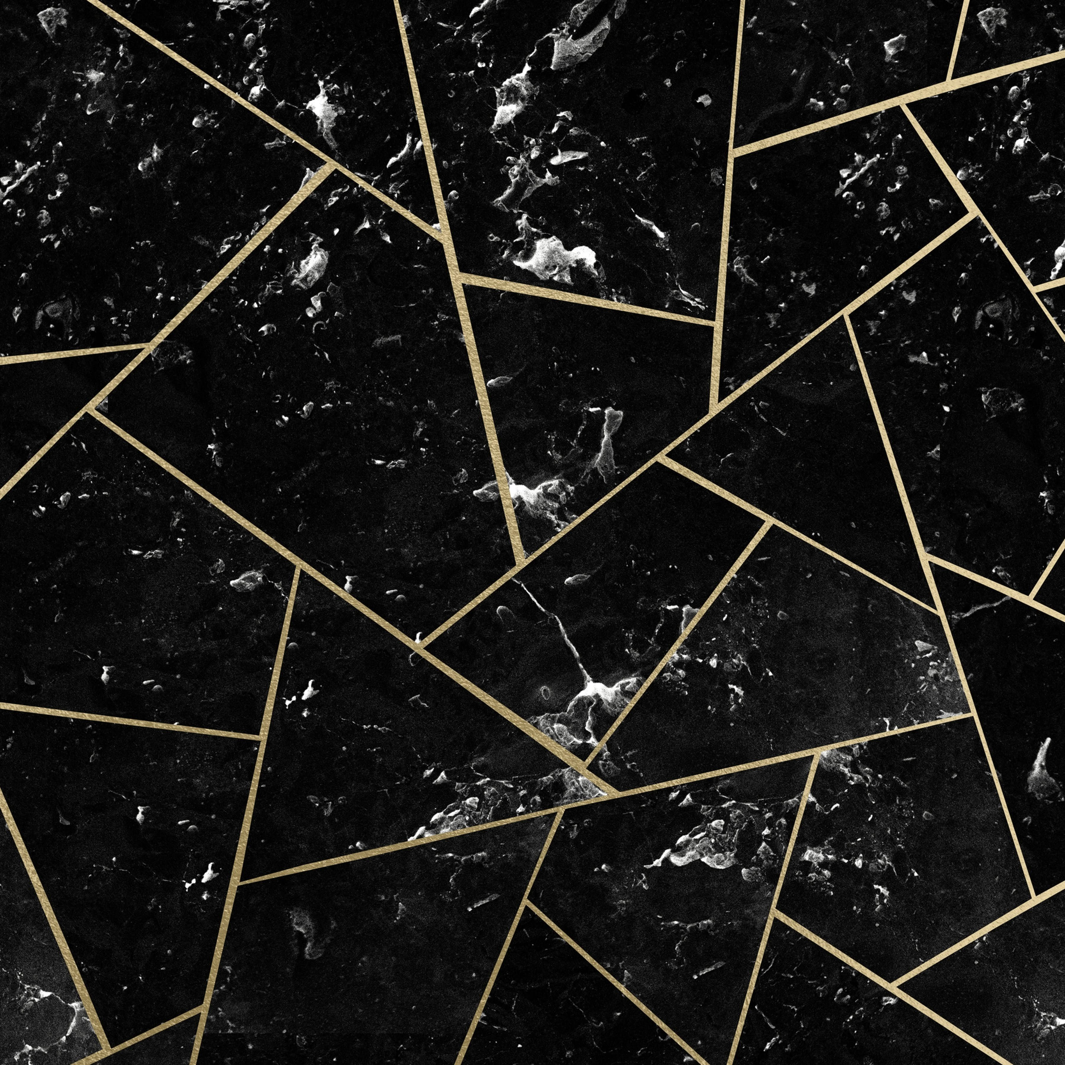 Black Marble Gold Geometric 1 Wallpaper Marble Wallpaper Black Marble Gold Wallpaper Iphone