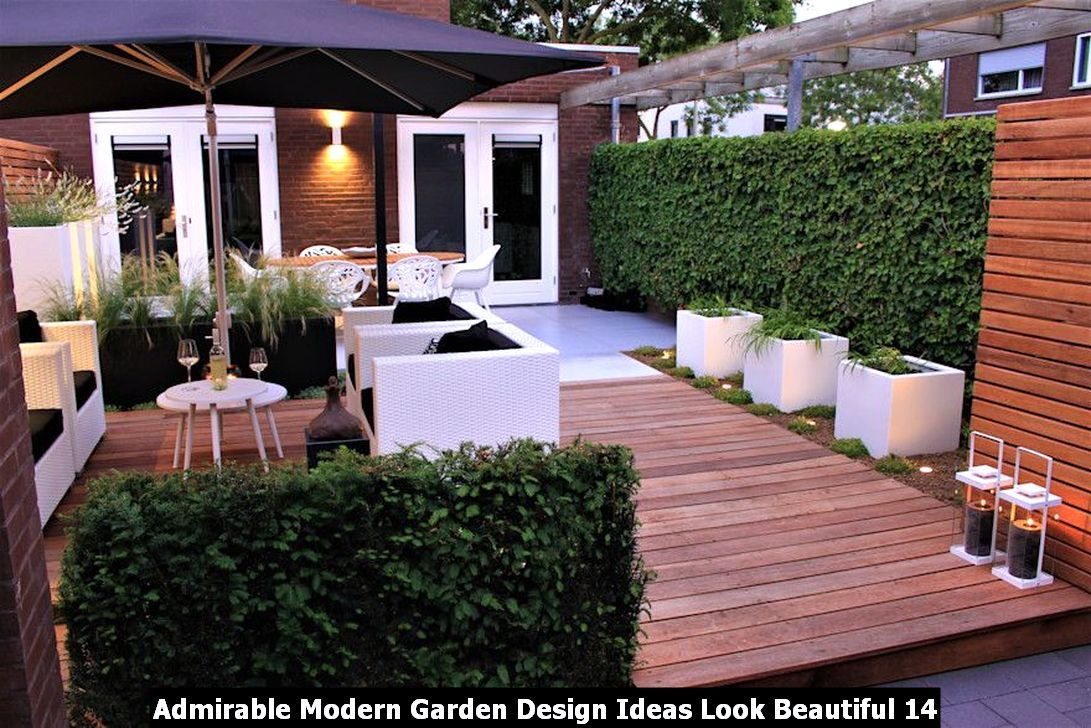 Admirable Modern Garden Design Ideas Look Beautiful Pimphomee Exterior Design Backyard Modern Patio Design Contemporary Garden Design
