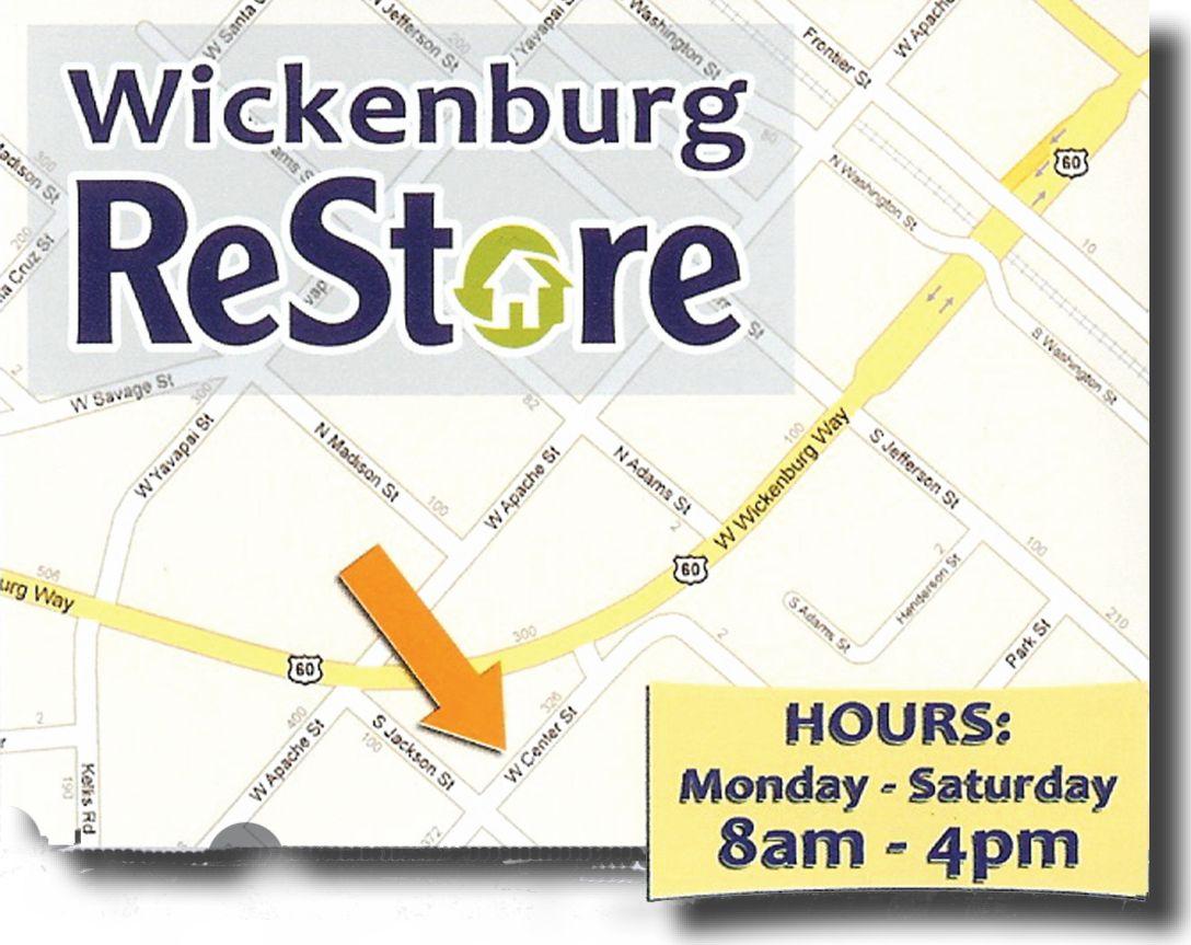 Wickenburg ReStore, Arizona Habitat for humanity restore