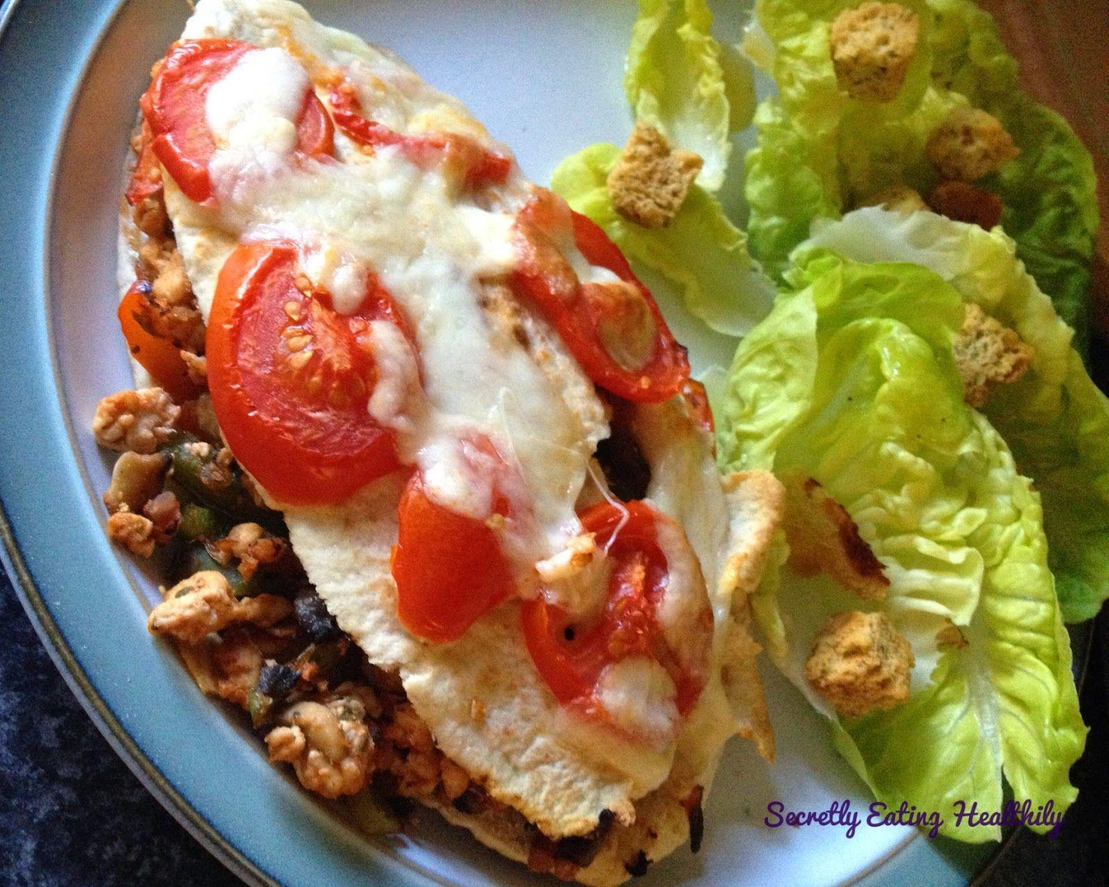 Healthy Turkey Mince Pitta Calzone | Turkey mince, Calzone ...