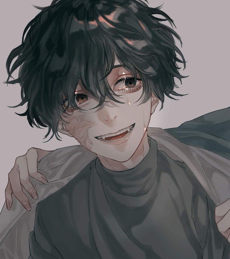 Twitter Suuuuumid Black Haired Anime Boy Yandere Anime Anime Boy Hair