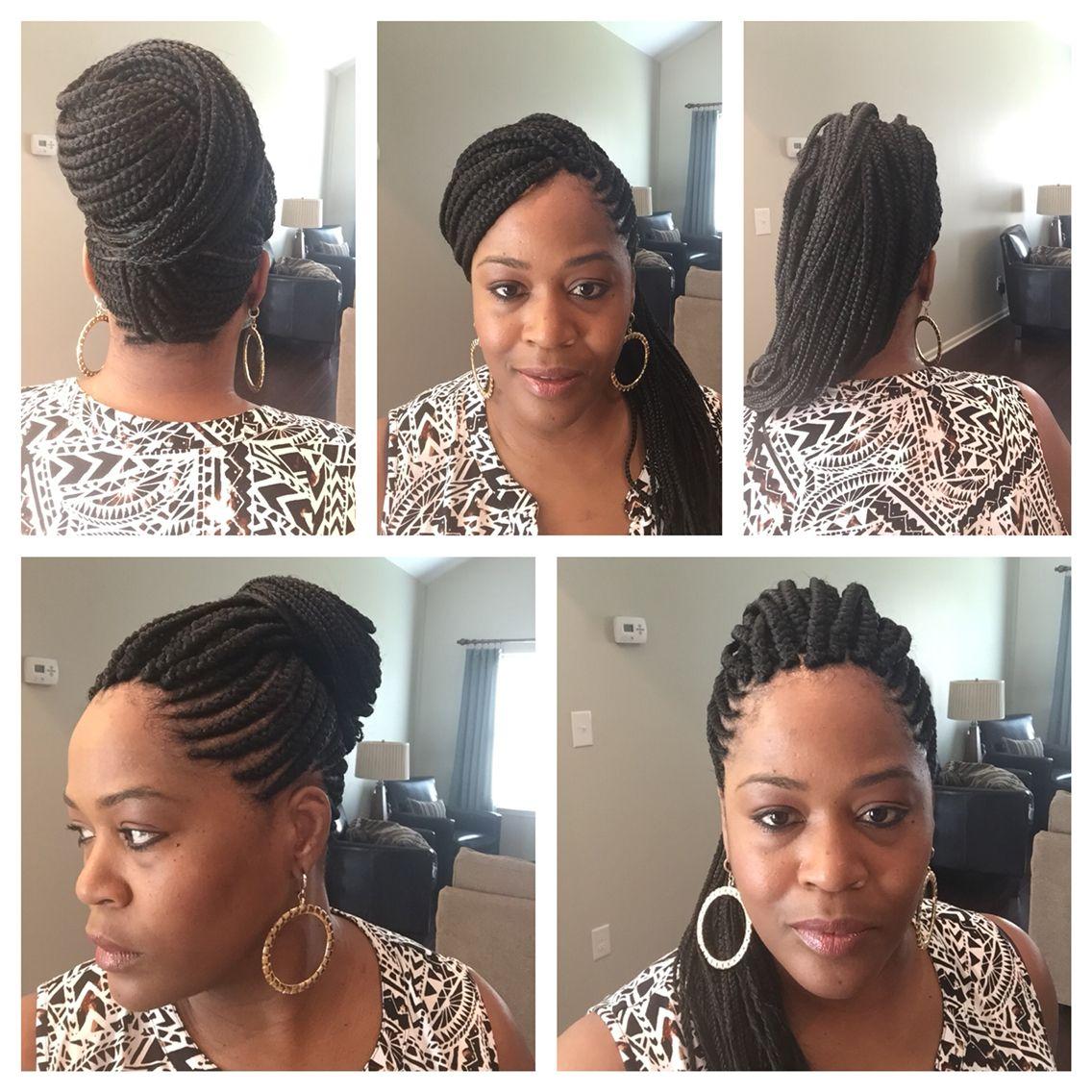 Mohawk hair for black women protective styling for black hair