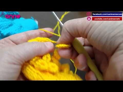 Amigurumi Bebek AYAK YAPIMI - amigurumi doll legs - YouTube | 360x480