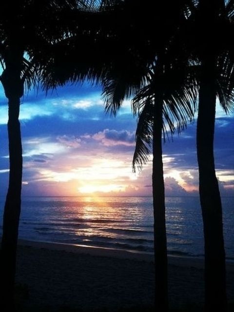 Another awesome sun set in Boca Raton Florida!! Love love love Florida!!