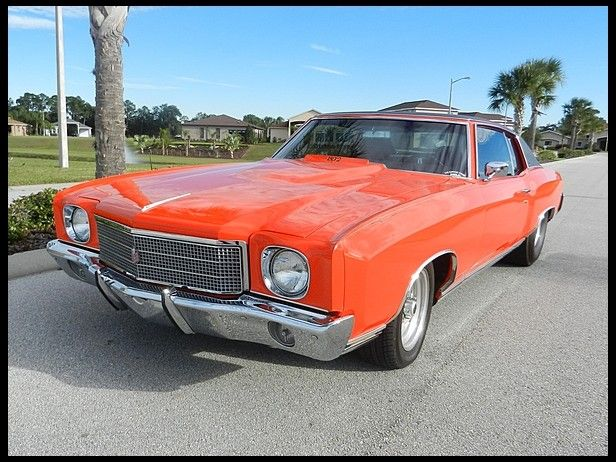 1970 Chevrolet Monte Carlo 502/450 HP, Automatic Presented As Lot T24 At  Kissimmee, FL 2014   Image1