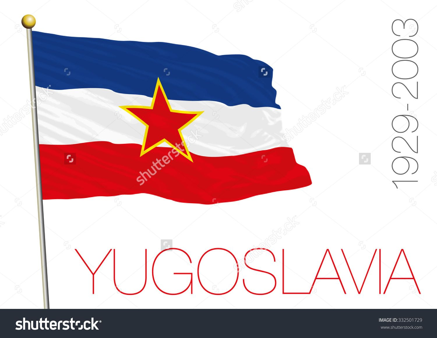 ex yugoslavia flag | Cycle 2: Classical Conversations | Flag of