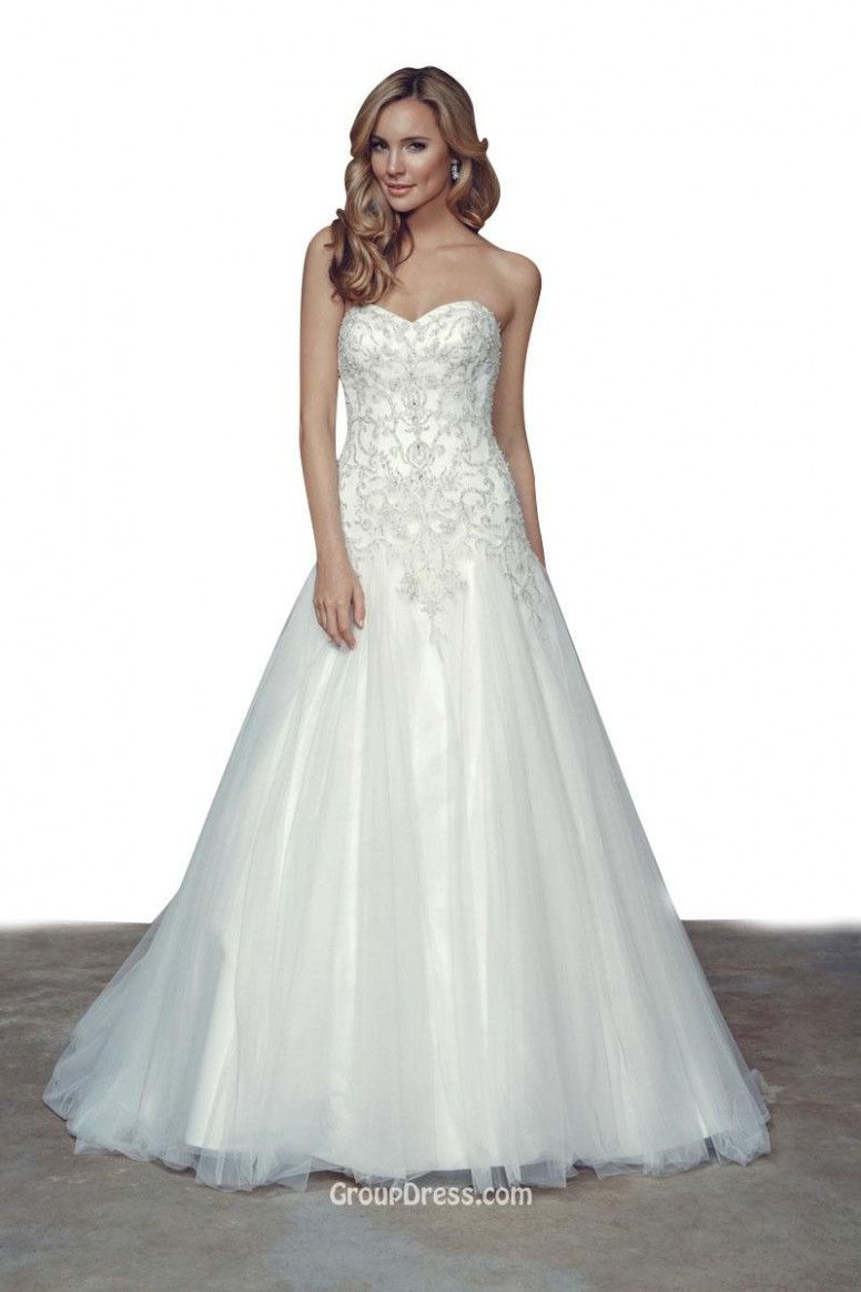 Wedding gowns tulle a line wedding photo pinterest wedding gowns tulle a line princess strapless sweetheart neck a line beaded tulle wedding dress junglespirit Image collections
