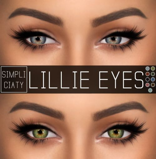 Sims 4 Updates: Simpliciaty - Eyes : Lillie Eyes, Custom Content