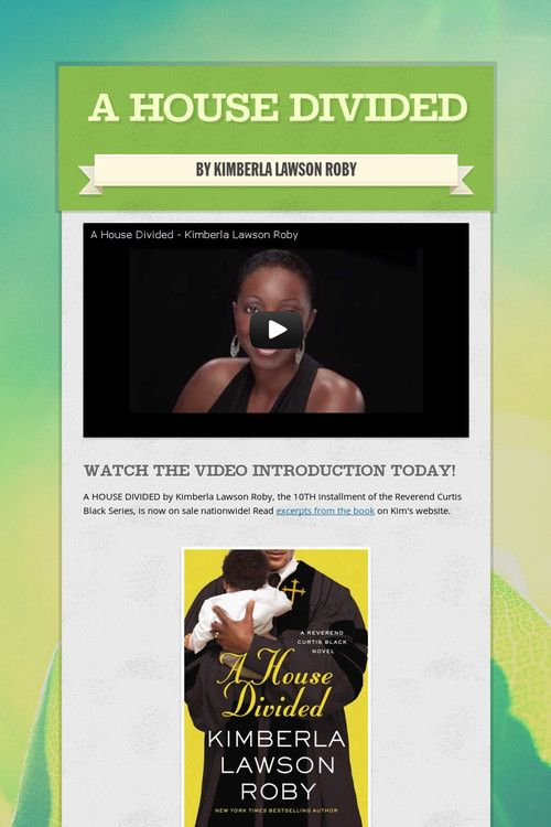 A House Divided By Kimberla Lawson Roby The 10th Installment Of The