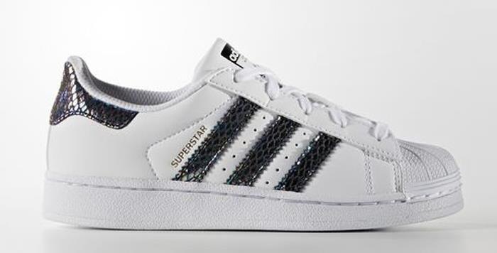 best website e4e9e e0329 1610-adidas-Originals-Superstar-Metallic-Snake-C-Kid-039-s-Sneakers-Shoes -B27523