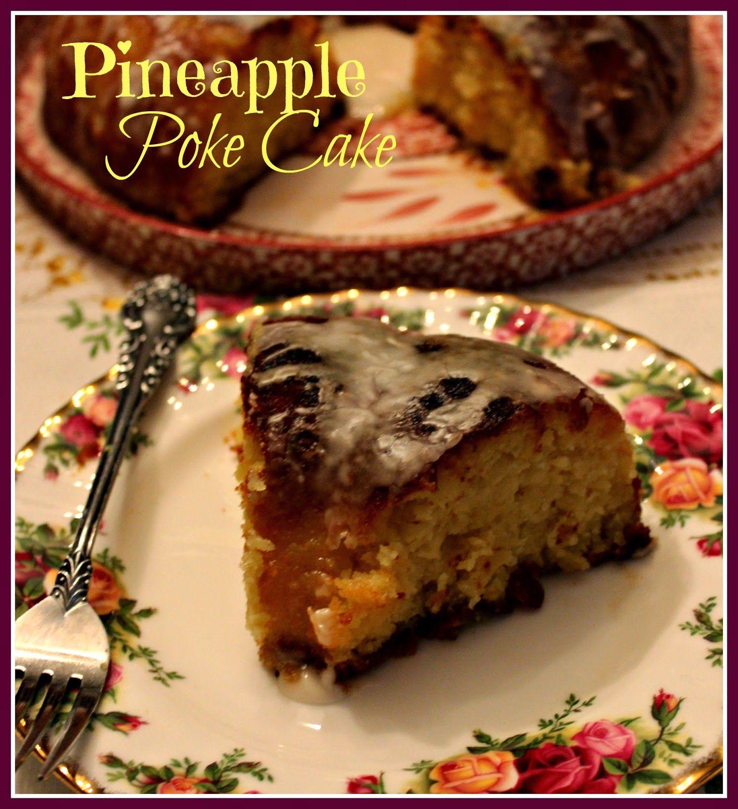 Pineapple Cookie Cake