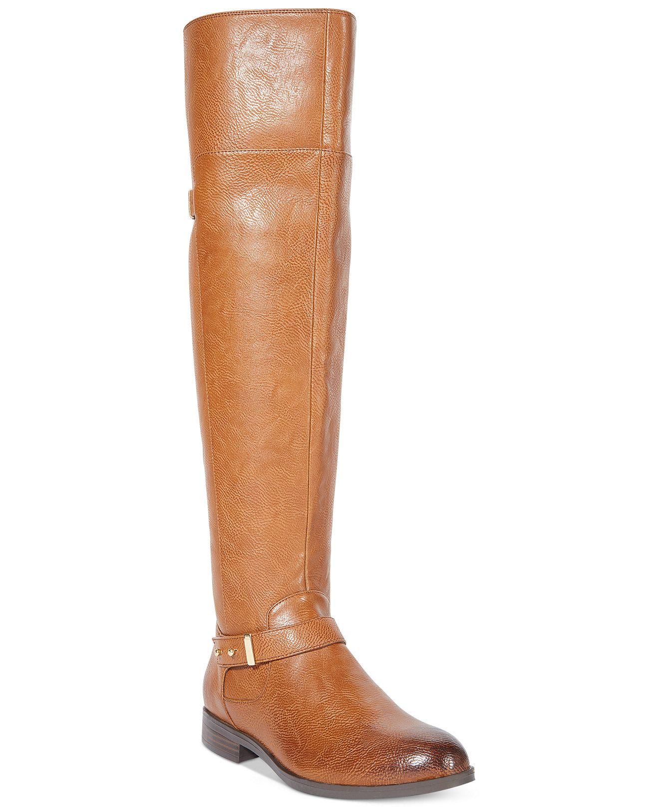 21a92c7b761d Bar III Deidre Over The Knee Wide Calf Boots - Boots - Shoes - Macy s
