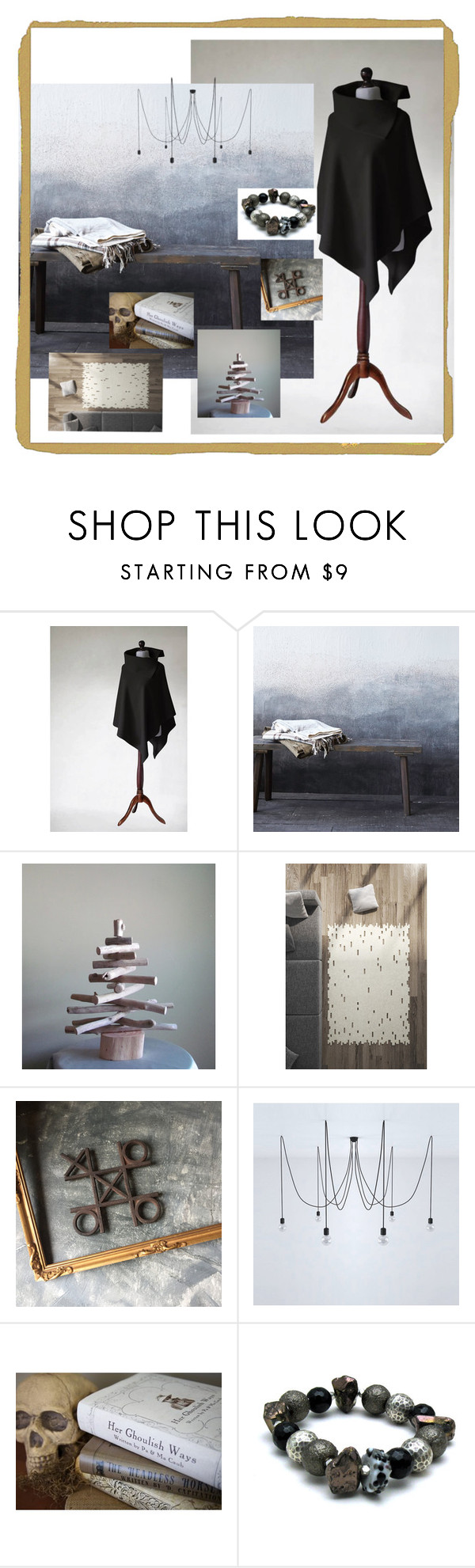 """rustic home"" by ohziedesigns ❤ liked on Polyvore featuring rustic"
