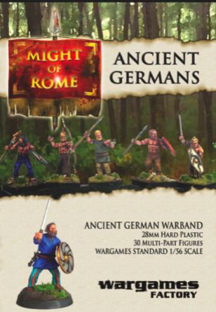 Might Of Rome Ancient German Warband 1 56 Scale 28mm Wargames Factory 30 Unpainted Polystyrene Figures 19 95 Wargames Factory German Ancient