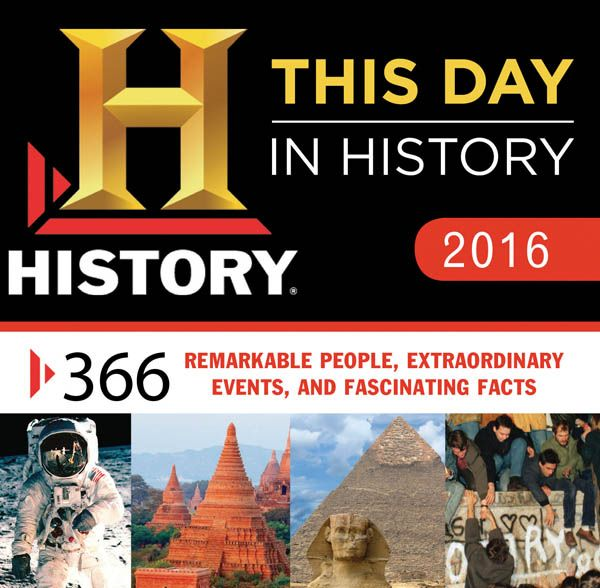 This Day in History Boxed Calendar 2016 | Main photo (Cover)